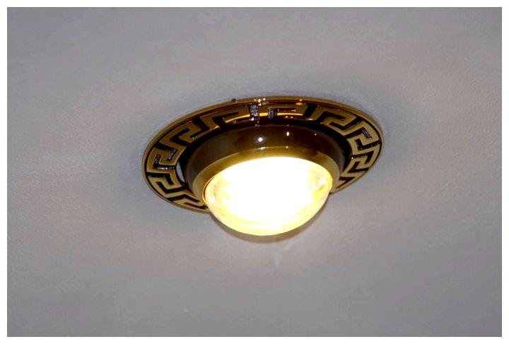Точечные светильники для потолков
