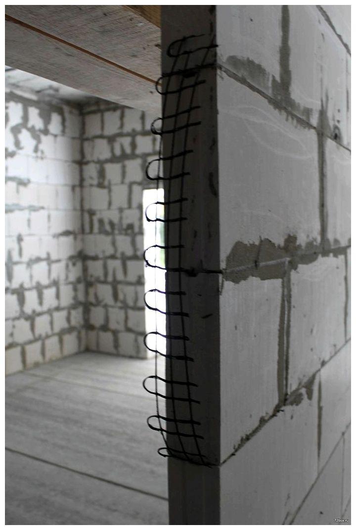 Перегородки из силикатного кирпича