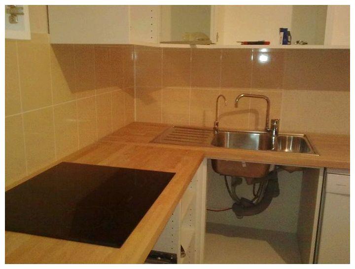 Столешница на кухню из древесины