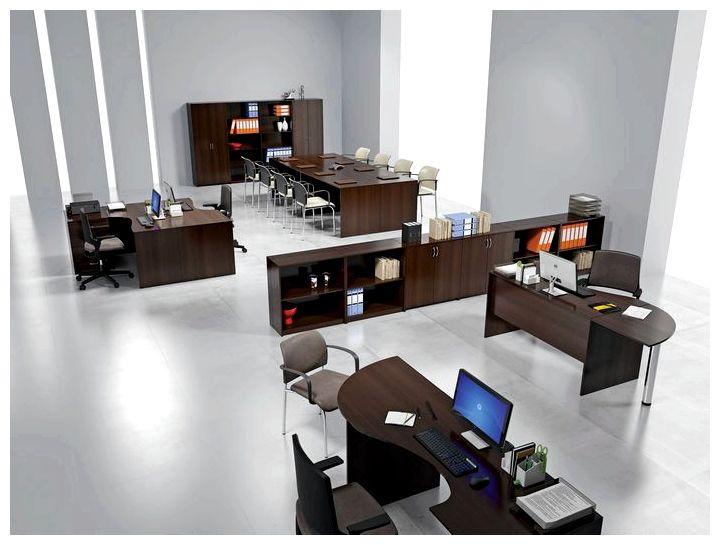 Офисная корпусная мебель фото