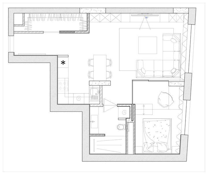 Несколько фишек в дизайне офиса при проектировании