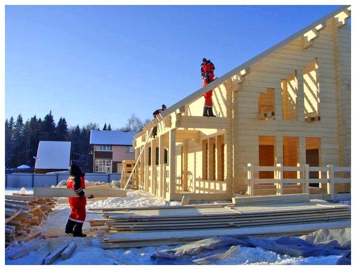 Строительство домов из бруса: этапы