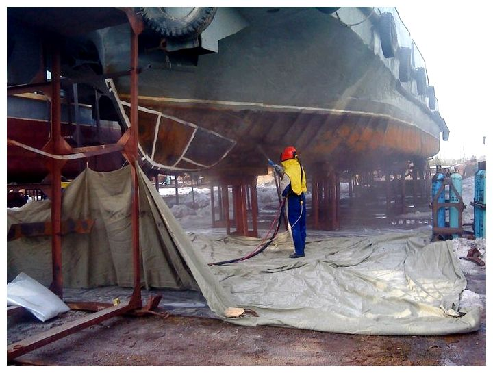 Антикоррозийная защита строительных конструкций