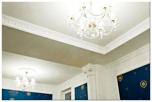 бордюр на потолок