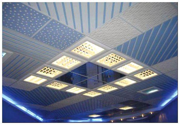плитка пвх для потолка характеристика
