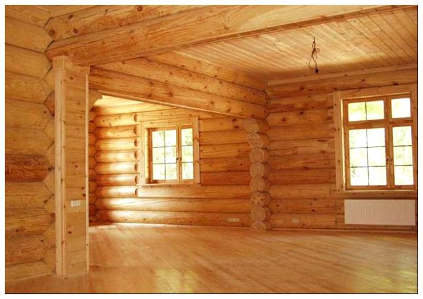 потолки для деревянных домов