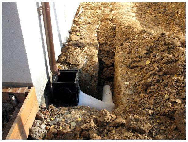 Для закрытых канализаций данного типа могут потребоваться вместительные траншеи, чтобы можно было организовать засыпку