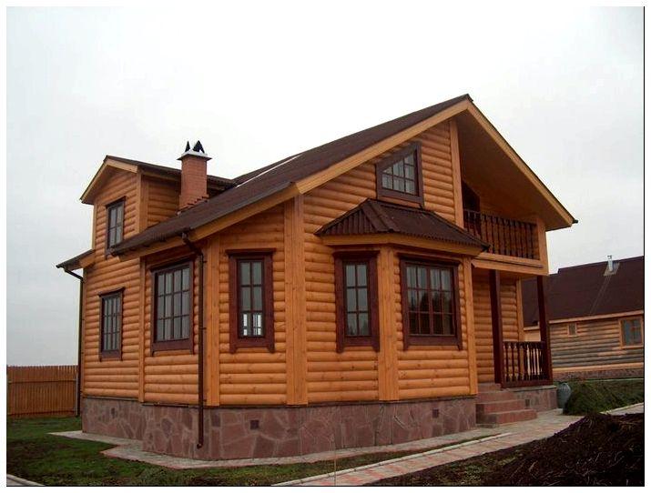 Внутренняя отделка деревянного дома: идеи для вооплощения