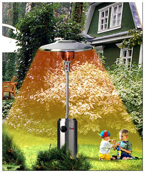 Применение уличного прибора для детской площадки на даче.