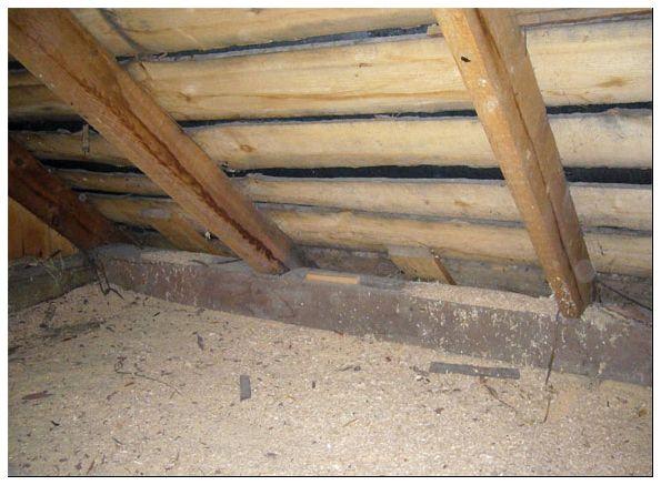утеплитель для потолка в деревянном доме