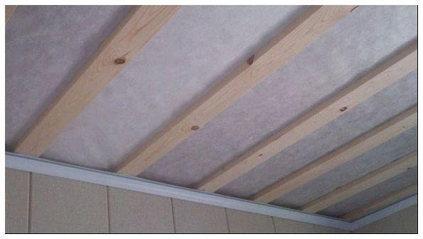 как сделать подшивные потолки